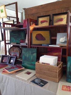 Campbell's Melange Booth at The Urban Market Houston Antique Show, May 2013.  http://melissecampbell.com/onthewall/