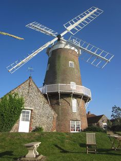 Cley Windmill, Norfolk, England wonderful place to get married Norfolk Broads, Norfolk England, England Uk, Places Around The World, Around The Worlds, Old Windmills, Norwich Norfolk, Great Yarmouth, Uk Holidays