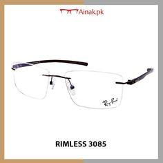 a3b59576e39 Get the latest Rimless frames only at Pakistan best online glasses store.