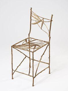 -Claude Lalanne- 'Feuilles Bamboo' (bronze)
