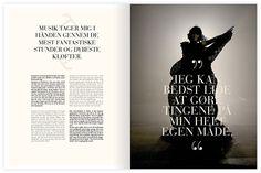 Editorial design - Kristina Krogh Studio