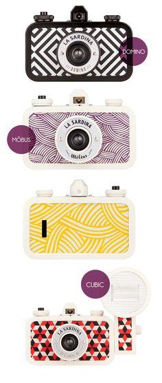 La Sardina Lomography Cameras  We have Möbius on PLASTIC CAMERAS.FI !
