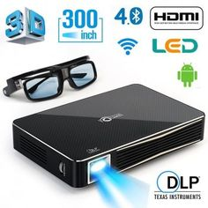 DLP HD Projector Home Theater Projector , Support external bluetooth Speaker, mouse and gamepad,Throw Range 300 inch Home Theater Speakers, Home Theater Rooms, Home Theater Seating, Home Theater Projectors, 3d Projector, Projector Reviews, The Big Comfy Couch, Small Home Theaters, 3d Home