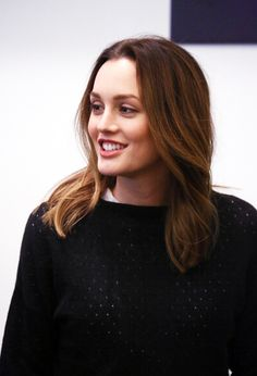 ohlevina  Leighton Meester attends the  Of Mice And Men  press conference  at Signature 3f9cf232b5