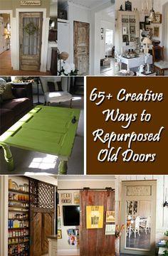 65+ Creative Ways to Repurpose Old Doors