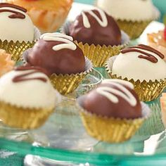 Mocha Truffles Recipe from Taste of Home -- No one has to know how easy they are to prepare! -Stacy Abell, Olathe, Kansas