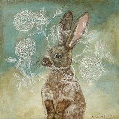 Rose Rabbit by Anne Siems, 2012.