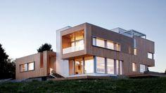 Casa moderna y modular de madera