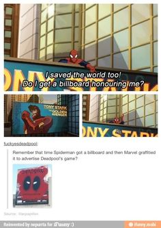 Darn it Deadpool ~ All I can think of is Moisturize me! HAHA!!! XD