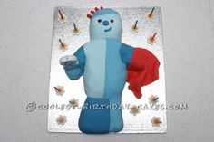 Coolest Iggle Piggle Cake... This website is the Pinterest of birthday cake ideas
