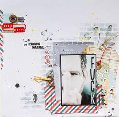 Maria Schmidt Scrap-Art-Design Mixed Media Scrapbooking, Scrapbooking Ideas, Cocoa, Schmidt, View Image, Mini Albums, Scrapbook Pages, Daisy, Sketches