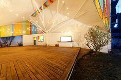 The Chapel por a21 studio, capilla con materiales reciclados Un bajo presupuesto y un terreno en alquiler condicionan la estrategia para abordar la construcción de esta capilla y centro comunitario ubicado en Vietnam