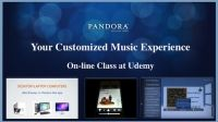 Pandora Internet Radio: Your Customized Music Experience by Chet Davis | Udemy $0 #customerservice