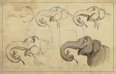 The Art of Aaron Blaise || CHARACTER DESIGN REFERENCES | Find more at…