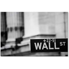 Trademark Fine Art Wall St Canvas Art by Yale Gurney, Size: 12 x 19, Multicolor