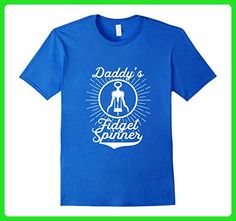 Mens Daddy's Fidget Spinner Shirt T-Shirt Funny Wine Lover, White 2XL Royal Blue - Food and drink shirts (*Amazon Partner-Link)