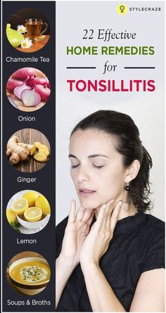 Are you suffering from a sore throat? Is your throat painful, especially while swallowing? If your answer is yes, you could be suffering f. Remedies For Swollen Tonsils, Sore Throat Remedies For Adults, Cold And Cough Remedies, Natural Headache Remedies, Cold Home Remedies, Flu Remedies, Holistic Remedies, Natural Health Remedies, Natural Cures