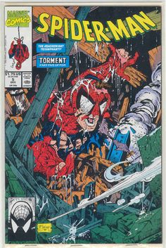 Title: Spider-Man | Year: 1990 | Publisher: Marvel | Number: 5 | Print: 1 | Type: Regular | TitleId: 535b97f9-84f4-4c48-9259-98ac8f1c269f
