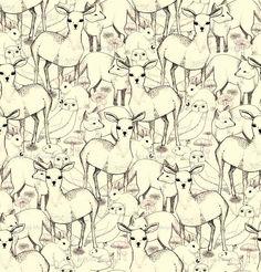Woodland fabric by lydia_meiying for sale on Spoonflower - custom fabric