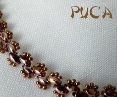 two hole bead bracelet by sliafb