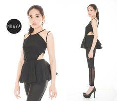 ISSABEL BLACK - muaya clothing - #fashion #womensfashion #womenswear