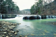Ouachita National Forest, Haw Creek Falls, average $10 a day