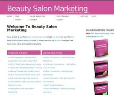 Free Salon Price List Template | Salon Marketing - Should you show prices on your salon brochures?