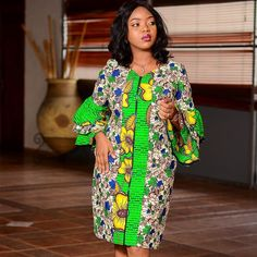 Ankara styles are just like any other clothing styles you know. But the difference between ankara and other clothing styles is Ankara. These ankara styles are new and are also lovely. Best African Dresses, Latest African Fashion Dresses, African Print Dresses, African Print Fashion, African Attire, Ankara Short Gown Styles, Short Gowns, Ankara Styles For Women, Dress Styles