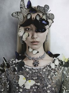 koreanmodel:    Soo Joo by Kevin Mackintosh for Vogue Italia Sept 2012