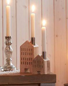 Kerzenhalter »Haus« (groß)