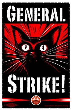 IWW General Strike Poster (printable)