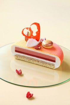 Melba torte.