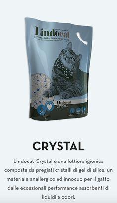 LINDOCAT CRYSTAL è una lettiera igienica composta da pregiati cristalli di gel di silice, un materiale anallergico ed innocuo per il gatto, dalle eccezionali performance assorbenti di liquidi e odori. #lettiera #cura #animali #petcare #animals #lettieresilicio #gelsilicio #inodore #gatti #gatto #cats #care #lindocat