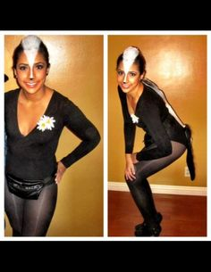 FLOWER the SKUNK - The American Apparel Halloween Contest 2012
