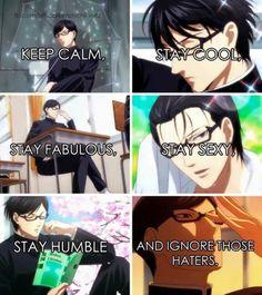 No episode this week ;-;   Anime : Sakamoto desu ga...