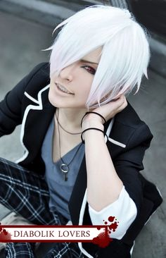 Subaru from Diabolik Lovers. I love this anime, I love this cosplay, and I love this cosplayer!!