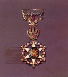 Rosa - Grã Cruz da Ordem Imperial da