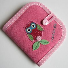 Pink Owl Needle Case £6.50