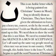 #WeAreN  #Pray4Iraq