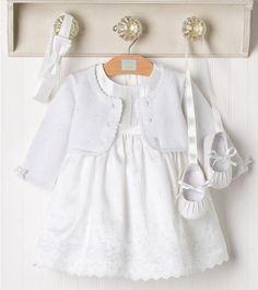 Designer Baby: Pristine Baby Set from Janie and Jack