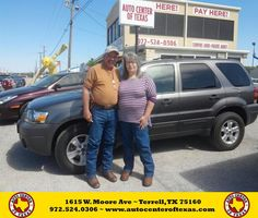 https://flic.kr/p/FRVHM6 | Happy Anniversary to Rodney on your #Ford #Escape from David Herrera at Auto Center of Texas! | deliverymaxx.com/DealerReviews.aspx?DealerCode=QZQH