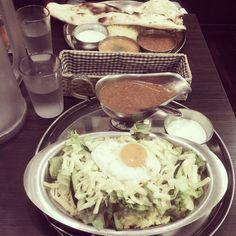 [2014/03/30]    サラダライス・キーマセット      @ターリー屋 九段下店