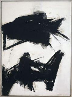 Franz Kline, Black Sienna, 1960, 92 x 68 in.
