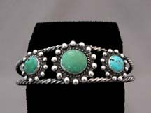 1945 Native American Navajo Made Cuff Bracelet $400