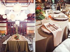 Backyard Bohemian Wedding: Lindsey + Andrew Absolutely love this setting... #boho #nature #tablesetting