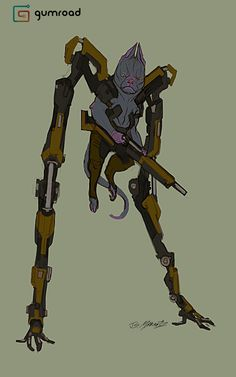 In this tutorial I focus on designing 20 Alien Outlaw characters from the initial rough in, to clean line, and then flat color. This demo is about brainstorming, working from reference, and creating original characters from scratch using fast and Alien Character, Character Art, Character Ideas, Fantasy Character Design, Character Concept, Fantasy Inspiration, Character Inspiration, Aliens, Beast Creature