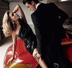 Аня Рубик и Николай Даниэльсен в Vogue Paris