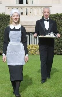 Maid & Butler Butler Outfit, Butler Costume, House Maid, Staff Uniforms, Maid Uniform, Frozen Costume, Maid Outfit, French Maid, Sissy Maid