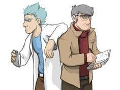 science grandpas by nogoodverybad on DeviantArt Get Schwifty, Cartoon Crossovers, Match Me, Rick And Morty, Gravity Falls, Cartoon Art, Science, Fan Art, Deviantart
