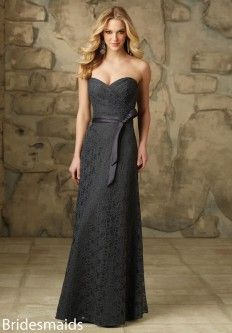 Mori Lee 103 Lace Bridesmaid Gown